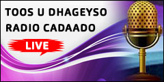 TOOS U DHAGEYSO IDAACADDA RADIO CADAADO